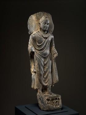 Buddha, 3rd century, Pakistan, Khyber-Pakhtunkhwa province. © The Metropolitan Museum of Art