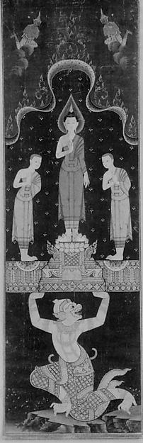 Buddhist Temple Painting, Thailand, early 19th century © The Metropolitan Museum of Art