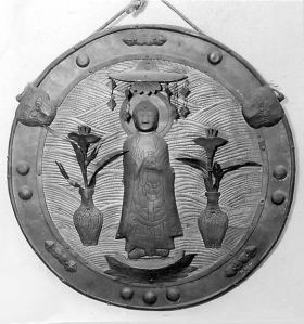 Votive Buddhist Plaque, Japan, ca. 1400 © Metropolitan Museum of Art