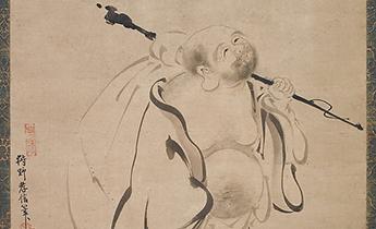 Kano Takanobu (Japanese, 1571–1618) Hotei, dated 1616 Japan, © The Metropolitan Museum of Art