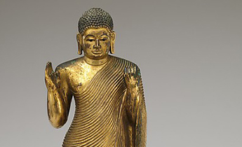 Buddha Offering ProtectionSri Lanka, mid-15th–16th century. © The Metropolitan Museum of Art
