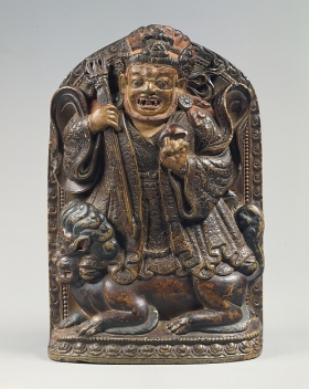 Dharmapalas, defenders of the dharma, the Buddha's teachings. Tibet, 16th century. © The Metropolitan Museum of Art