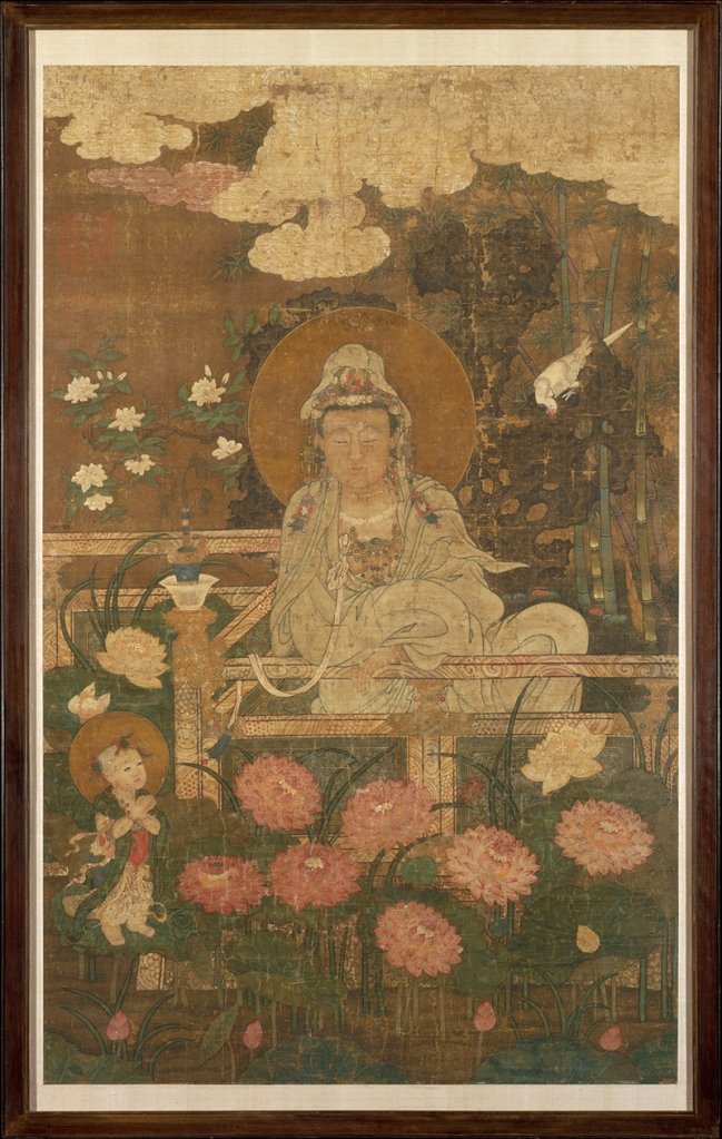 Guanyin [Avalokiteshvara] as the Nine-Lotus Bodhisattva. China 1593 © The Metropolitan Museum of Art