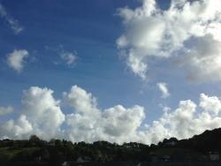 Sky over Totnes