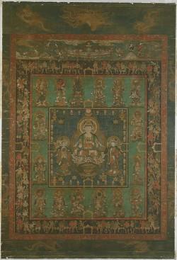 Mandala of Hannya Bosatsu, Japan, Nanbokuchō period (1336–92) © Metropolitan Museum of Art