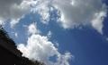 Sky over Totnes.