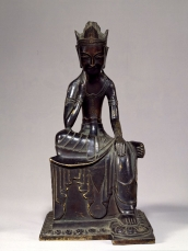 Seated Bodhisattva, Japan, dated 606 or 666. Horyuji Treasure. © Tokyo National Museum