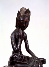 Seated Bodhisattva, Japan, dated 606 or 666. Horyuji Treasure. © Tokyo National Museum