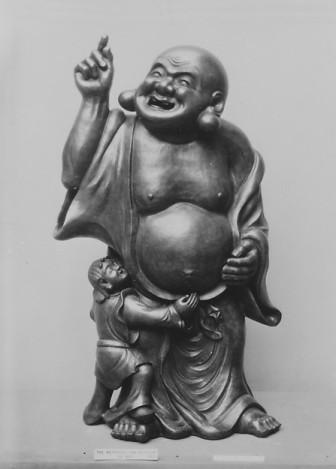Hotei and Child © Metropolitan Museum of Art