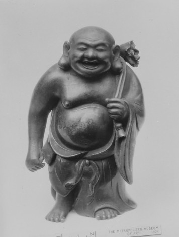 Censer in form of a God (Hotei), Japan, Edo period (1615–1868), 1650 © Metropolitan Museum of Art