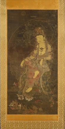 Water-moon Avalokiteshvara © Metropolitan Museum of Art