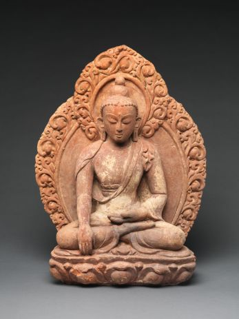 Akshobhya, the Buddha of the Eastern Pure Land, Nepal 16th–17th century © The Metropolitan Museum of Art