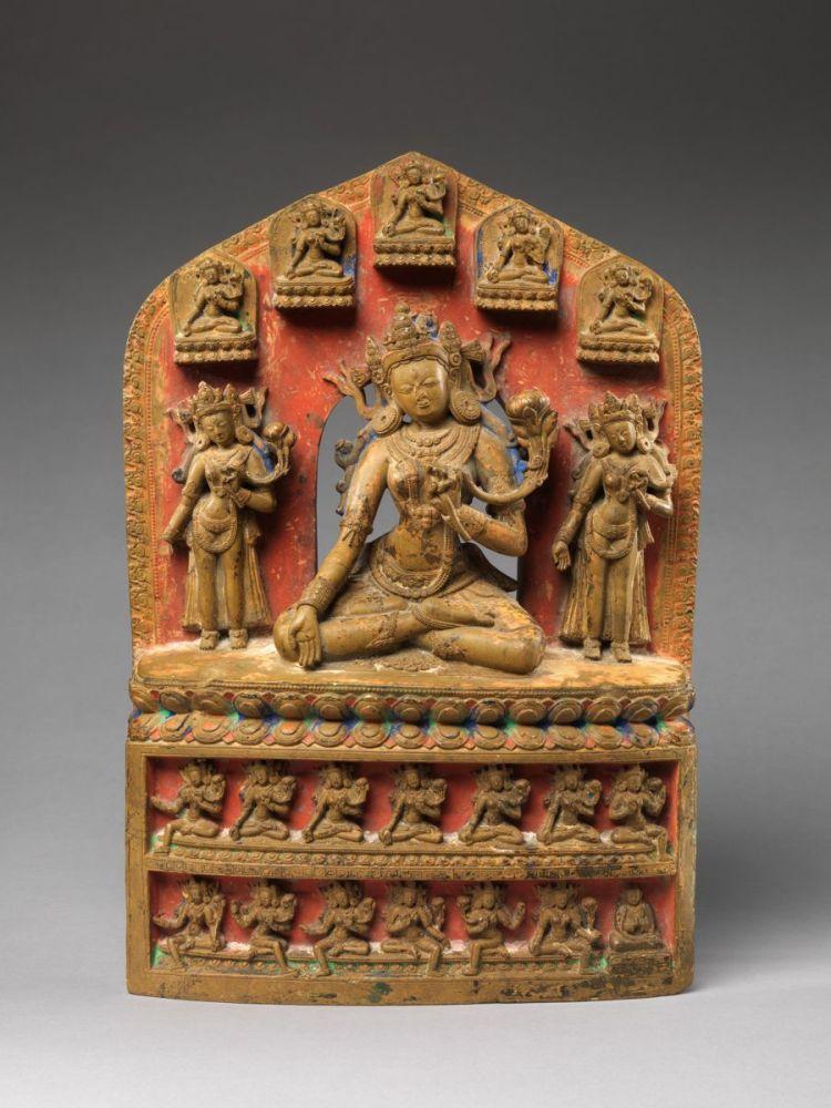 Twenty-One Emanations of the Goddess Tara, 14th century © The Metropolitan Museum of Art