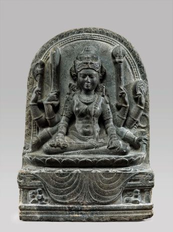 Mahapratisara, the Buddhist Protectress, India, Bihar, 10th century © The Metropolitan Museum of Art