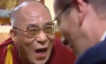 Dalai Lama and Richard Quest of CNN