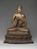 Guru Padmasambhava (Lotus-Born) propagator of tantric Buddhism in Tibet. © Metropolitan Museum of Art