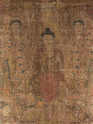 Maitreya Paradise, China, Gansu province, Dunhuang, 945 CE.© President and Fellows of Harvard College