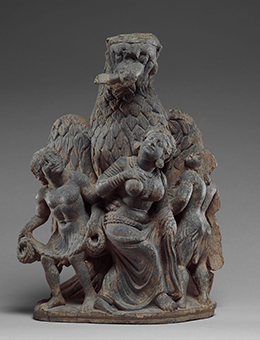 Garuda Vanquishing the Naga Clan,ca. 2nd–3rd century Pakistan (ancient region of Gandhara) © Metropolitan Museum of Art