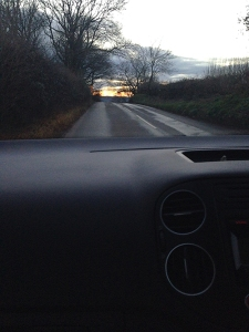 On the road to Totnes © RSR