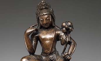 Avalokiteshvara Padmapani, Pakistan (Swat Valley), 7th century © Metropolitan Museum of Art.