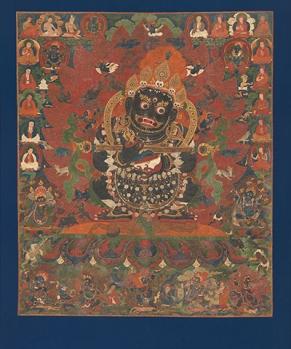 Mahakala, Central Tibet, ca.1500 © Metropolitan Museum of Art
