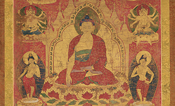 Pancaraksha Mandala with the Buddha Sakyamuni. © President and Fellows of Harvard College