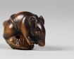Netsuke Rat, 19th century, Japan. Metropolitan Museum of Art.