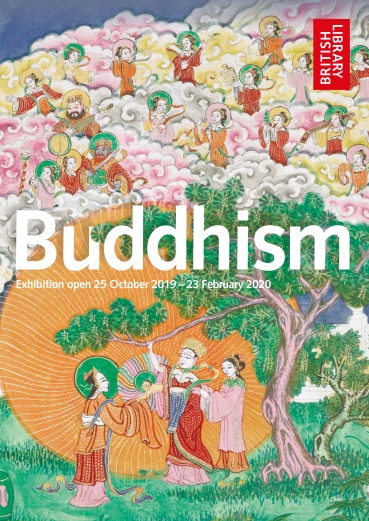 Buddhism at the British Library poster © British Library Board