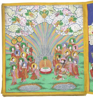 The Life of Buddha © British Library Board