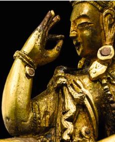 Discussing and transmitting the Buddhist teaching (Vitarka Mudra)